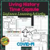 Living History Time Capsule - Covid-19 Coronavirus Distanc