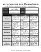 Living, Learning, and Working Matrix {Summarizing Transiti