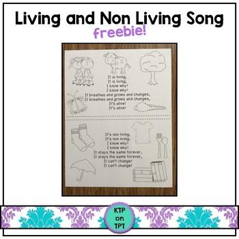 Living Non Living Freebie