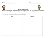 Living Nonliving Activity Sheet
