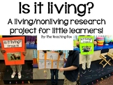 Living/Nonliving Animal Research Project