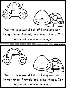 Living & Nonliving {Mini-Reader}
