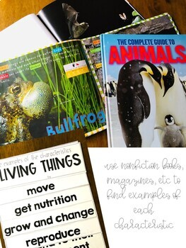 Living & Nonliving Science Resources Bundle