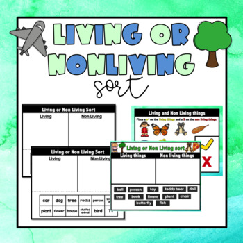Living/Nonliving Sort {Science}