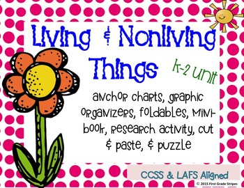 Living & Nonliving Things Activities