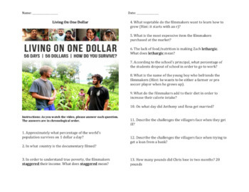 Living On One Dollar - Documentary Guide