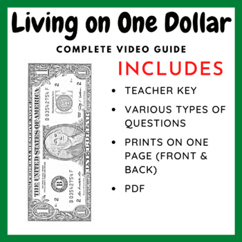 Living On One Dollar - Documentary Guide