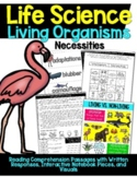 Living Organism Interactive Notebook