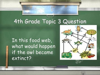 Living Organisms - Smart 5th Graders Review Game