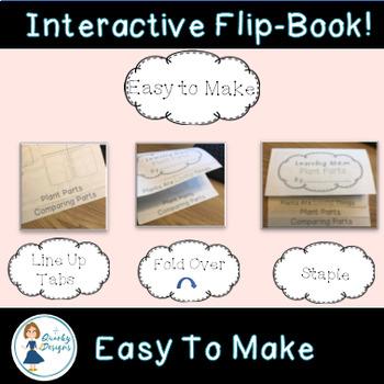 Living Organisms Interactive Science Flip Book Bundle {6 Flip Books}