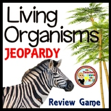 Living Organisms Game Show - Classroom Review Game