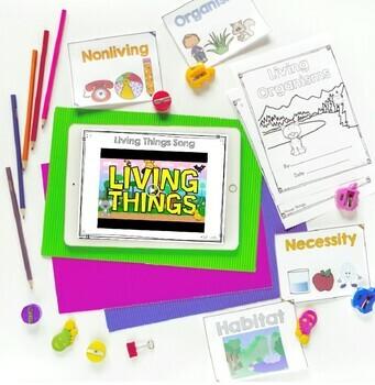 Living Organisms Mini Unit- 1st & 2nd Grade