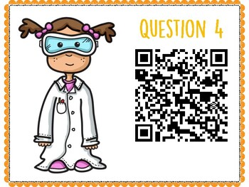 Living Organisms QR Code Hunt (Content Review or Notebook Quiz)