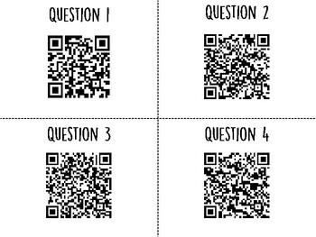 Living Organisms QR Code Hunt (Content Review or Notebook Quiz)