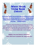 Living Room Concert for Winter Vacation - Orchestra, violi