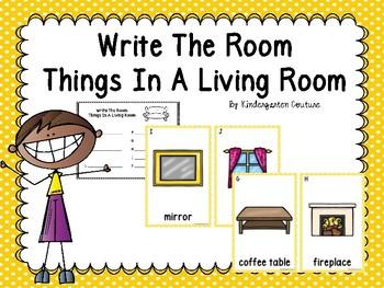 Living Room Write The Room
