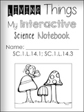 Living Things 1st Grade Science Notebook