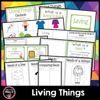 Living Things Activities