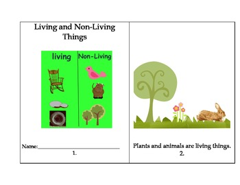 Living Things: Animals