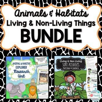 Living Things & Animals Bundle