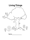 Living Things Booklet