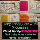 Cells Interactive Notebook Reading Comprehension BUNDLE