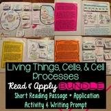 Cells Interactive Notebook Reading Comprehension BUNDLE