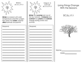 Living Things Change With the Seasons Trifold