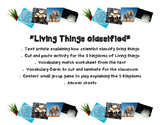 Living Things Classification