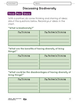 Living Things Classification Systems Lesson Plan Grade 6