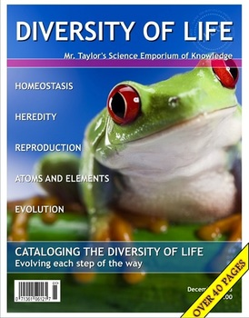 Living Things:  Diversity and Chemistry of Life Unit Note Packet