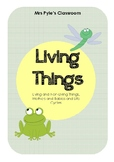 Living Things- Life Cycles