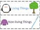 Living Things/Non-Living Things Sorting