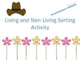 Living Things/Non-Living Things Sorting
