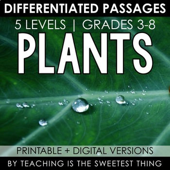 Living Things: Plants - Passages