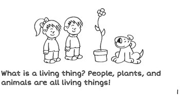 Living Things Printable Book