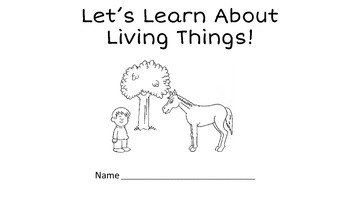 Living Things Printable Book