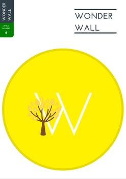 Living Things Wonder Wall Display