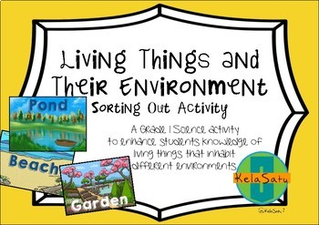 Living Things and Their Environment/Habitat