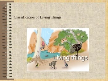 Living Things and Their Kingdoms