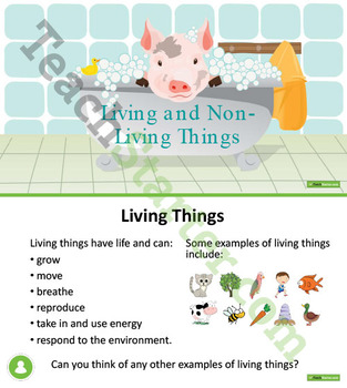 Living Things and Their Needs Unit Plan - Lower Grades