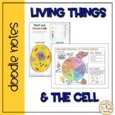 Living Things and the Cell - Doodle Notes