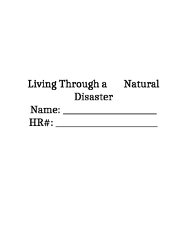 Living Through a Natural Disaster
