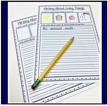 Living Vs. Non Living Things Sorting Pages
