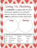 Living Vs. Nonliving