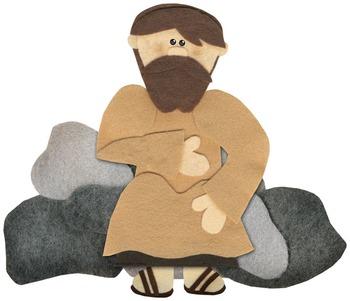 Living Water, Bread of Life {Printable New Testament Felt Story Set}