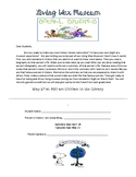 Living Wax Museum Letter