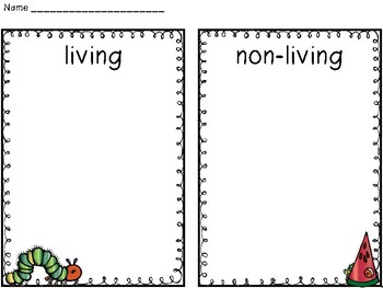 Living and Non-Living