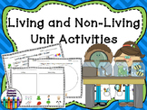Living and Non-Living Activities - ABC Order, Compare and