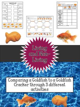 Living and Non-Living: Goldfish VS. Goldfish Cracker Full Packet